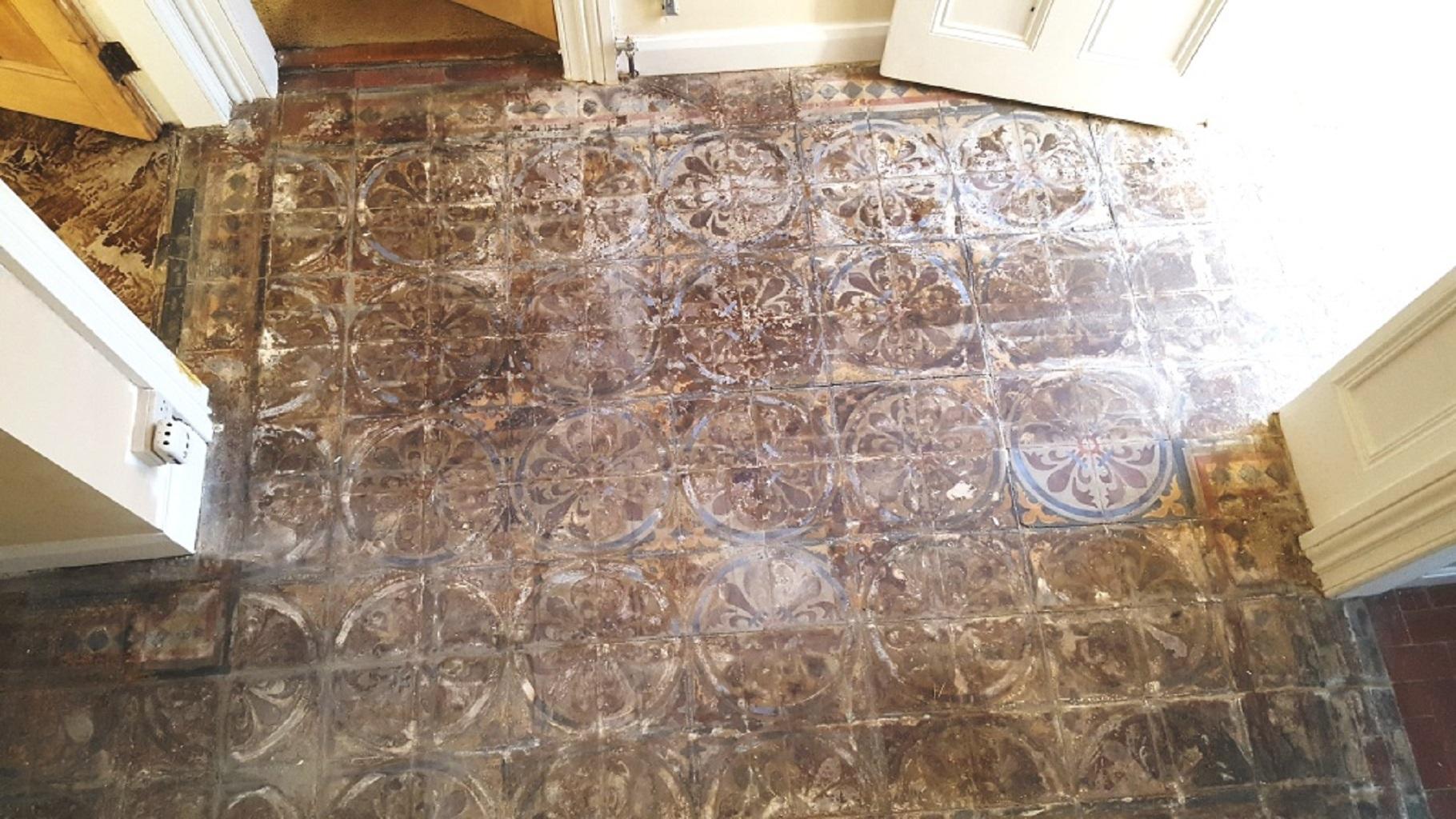 Encaustic Tile Renovation