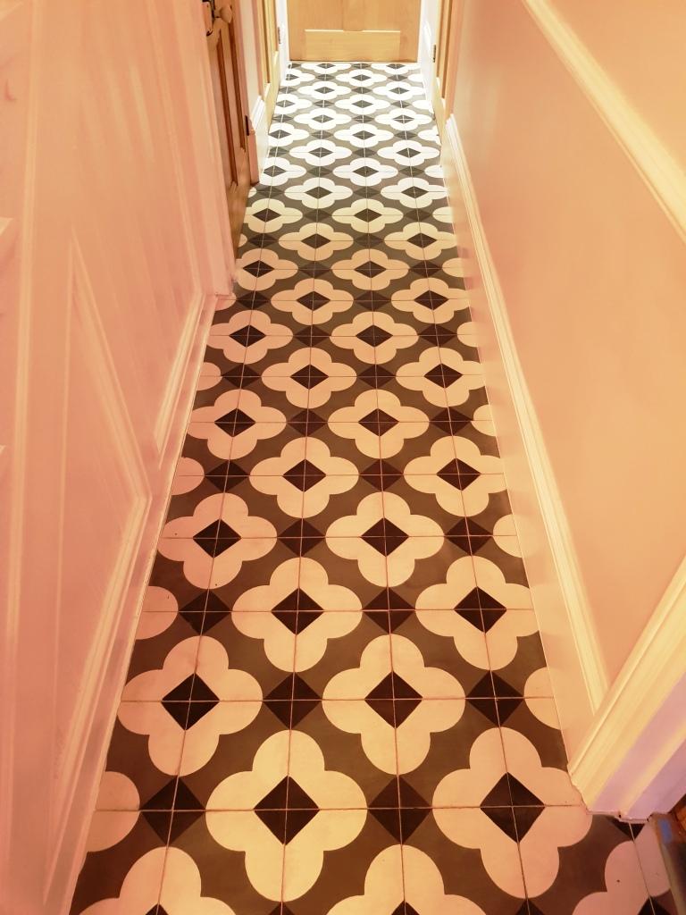 Polishing Encaustic Floors