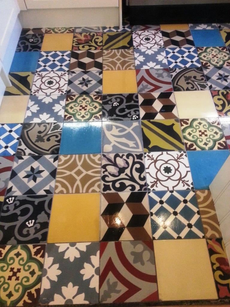 Sealing Encaustic Tiles